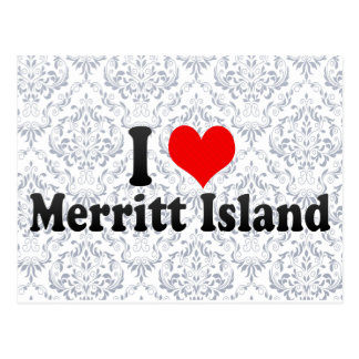 I Love Merritt Island, United States Postcard