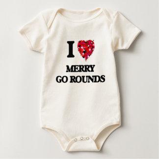 I Love Merry Go Rounds Bodysuit