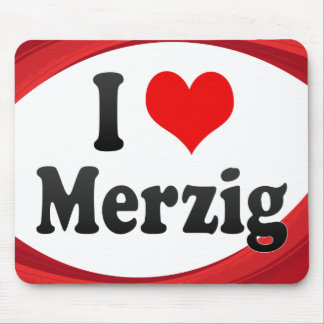 I Love Merzig Germany Ich Liebe Merzig Germany Mouse Pad
