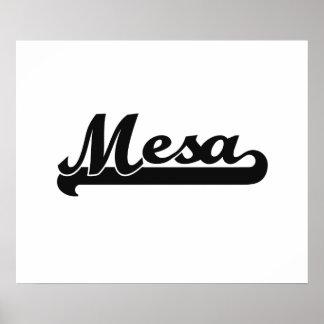 I love Mesa Arizona Classic Design Poster