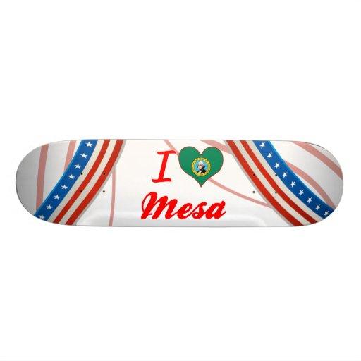 I Love Mesa, Washington Skateboard Decks