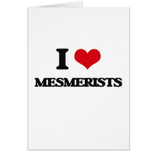 I love Mesmerists Cards