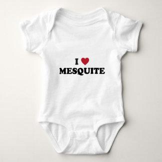 I Love Mesquite Texas Baby Bodysuit