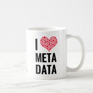 I Love Metadata Mug