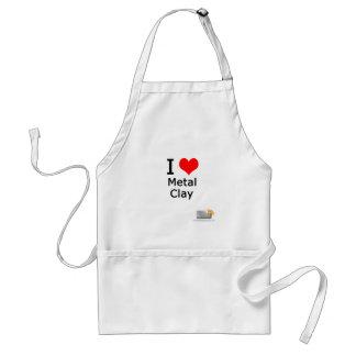 I love metal clay adult apron
