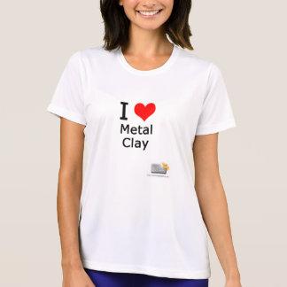 I love Metal Clay classic fit t-shirt
