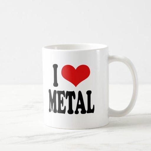 I Love Metal Coffee Mug
