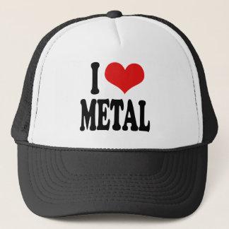 I Love Metal Trucker Hat