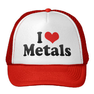 I Love Metals Trucker Hat