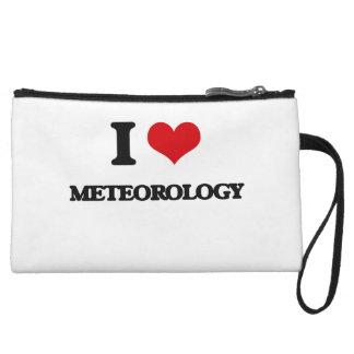 I Love Meteorology Wristlet Clutch