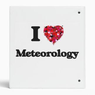 I Love Meteorology Binders