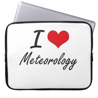 I Love Meteorology Computer Sleeves