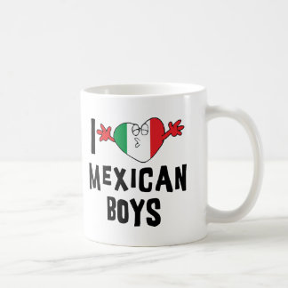 I Love Mexican Boys Coffee Mug