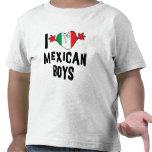 I Love Mexican Boys Girls Toddler T-Shirt Tshirt
