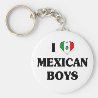 I love Mexican Boys Keychain