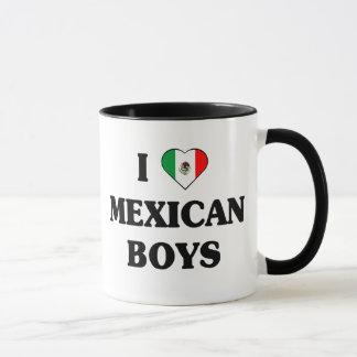 I love Mexican Boys Mug