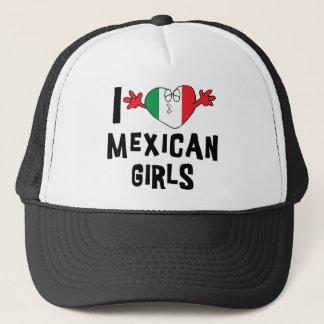 I Love Mexican Girls Trucker Hat