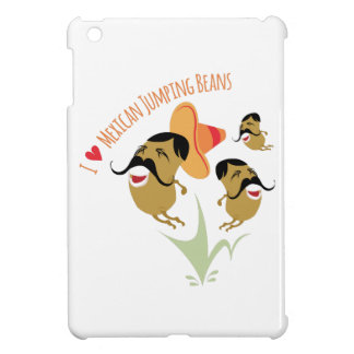 I Love Mexican Jumping Beans iPad Mini Covers