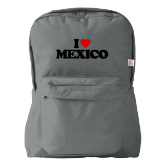 I LOVE MEXICO BACKPACK