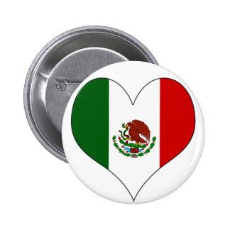 I Love Mexico Pin