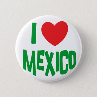 I Love Mexico Button