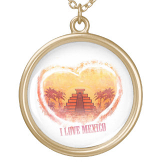 I Love Mexico Necklace