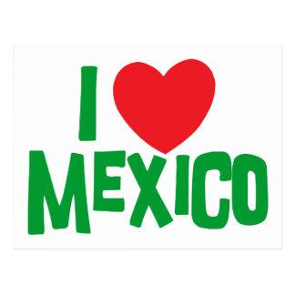 I Love Mexico Postcards