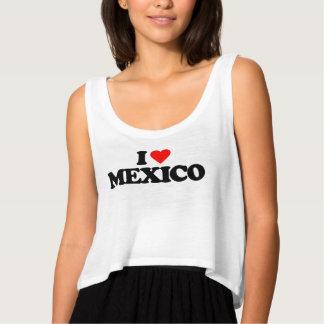 I LOVE MEXICO TANK TOP
