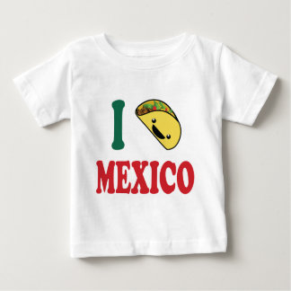 I Love Mexico Tee Shirt