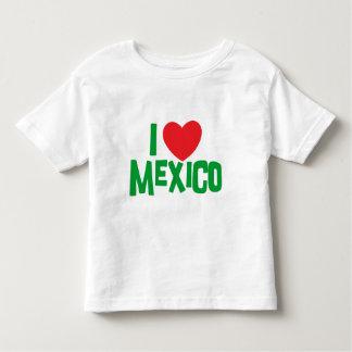 I Love Mexico Toddler Toddler T-shirt