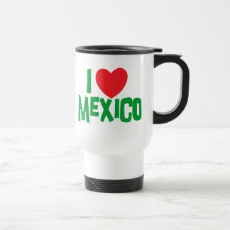 I Love Mexico Travel Mug