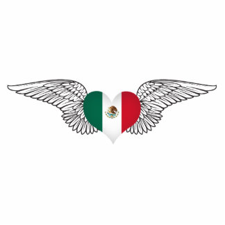 I Love Mexico -wings Photo Sculptures