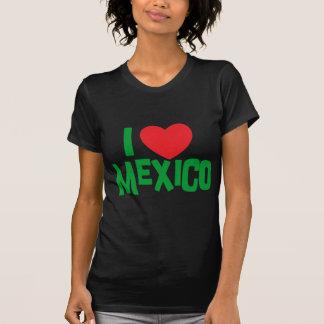 I Love Mexico Woman's Dark T-Shirt