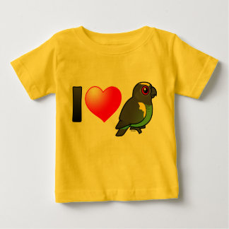 I Love Meyer's Parrots Baby T-Shirt
