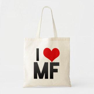 I Love MF Canvas Bag