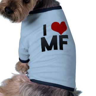 I Love MF Doggie T Shirt