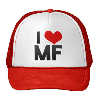 I Love MF Mesh Hat