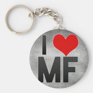 I Love MF Key Chain