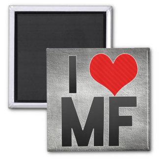 I Love MF Fridge Magnet