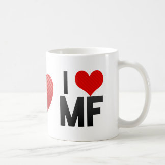 I Love MF Mugs