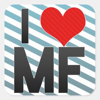 I Love MF Stickers
