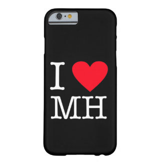 I Love MH - iPhone 6/6s, Barely There - Black Barely There iPhone 6 Case