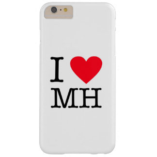 I Love MH - iPhone 6/6s Plus, Barely There Barely There iPhone 6 Plus Case