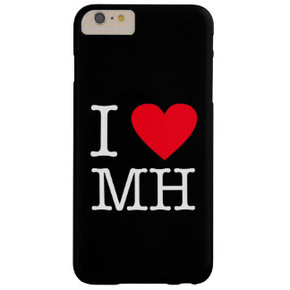 I Love MH - iPhone 6/6s Plus, Barely There - Black Barely There iPhone 6 Plus Case