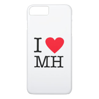 I Love MH - iPhone 7 Plus, Barely There iPhone 7 Plus Case