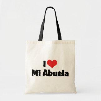 I Love Mi Abuela Budget Tote Bag