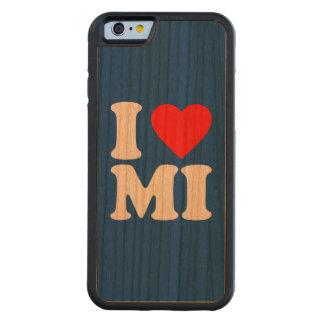 I LOVE MI CARVED CHERRY iPhone 6 BUMPER CASE