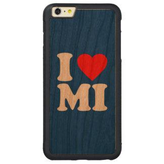 I LOVE MI CARVED CHERRY iPhone 6 PLUS BUMPER CASE
