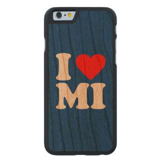 I LOVE MI CARVED CHERRY iPhone 6 SLIM CASE