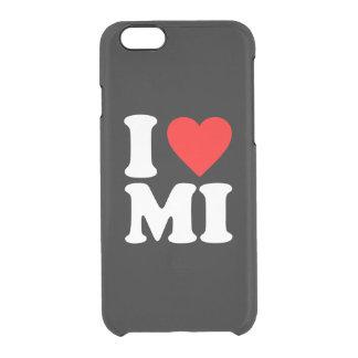 I LOVE MI CLEAR iPhone 6/6S CASE